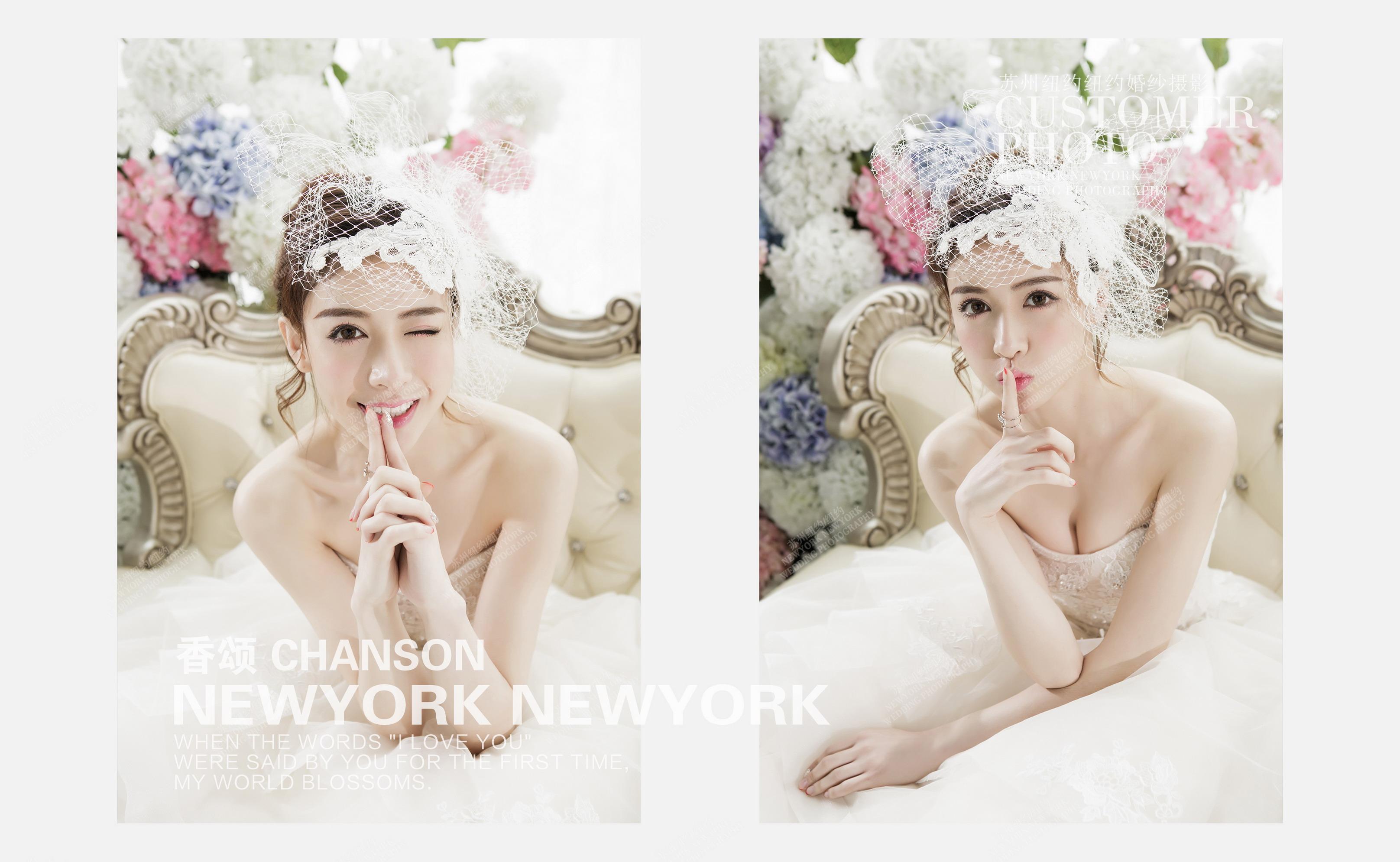 香颂婚纱摄影照