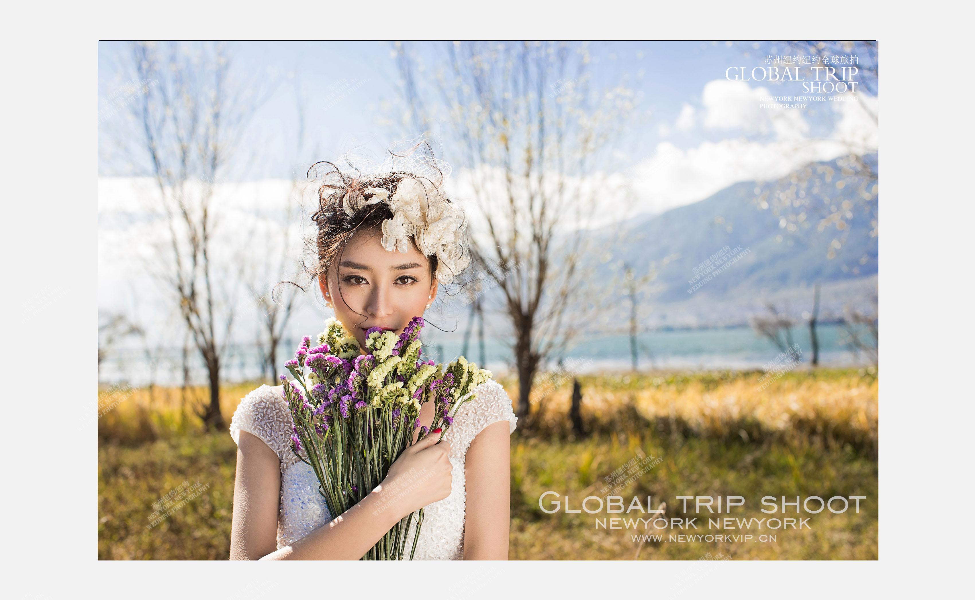 全球旅拍—洱海站婚纱摄影照