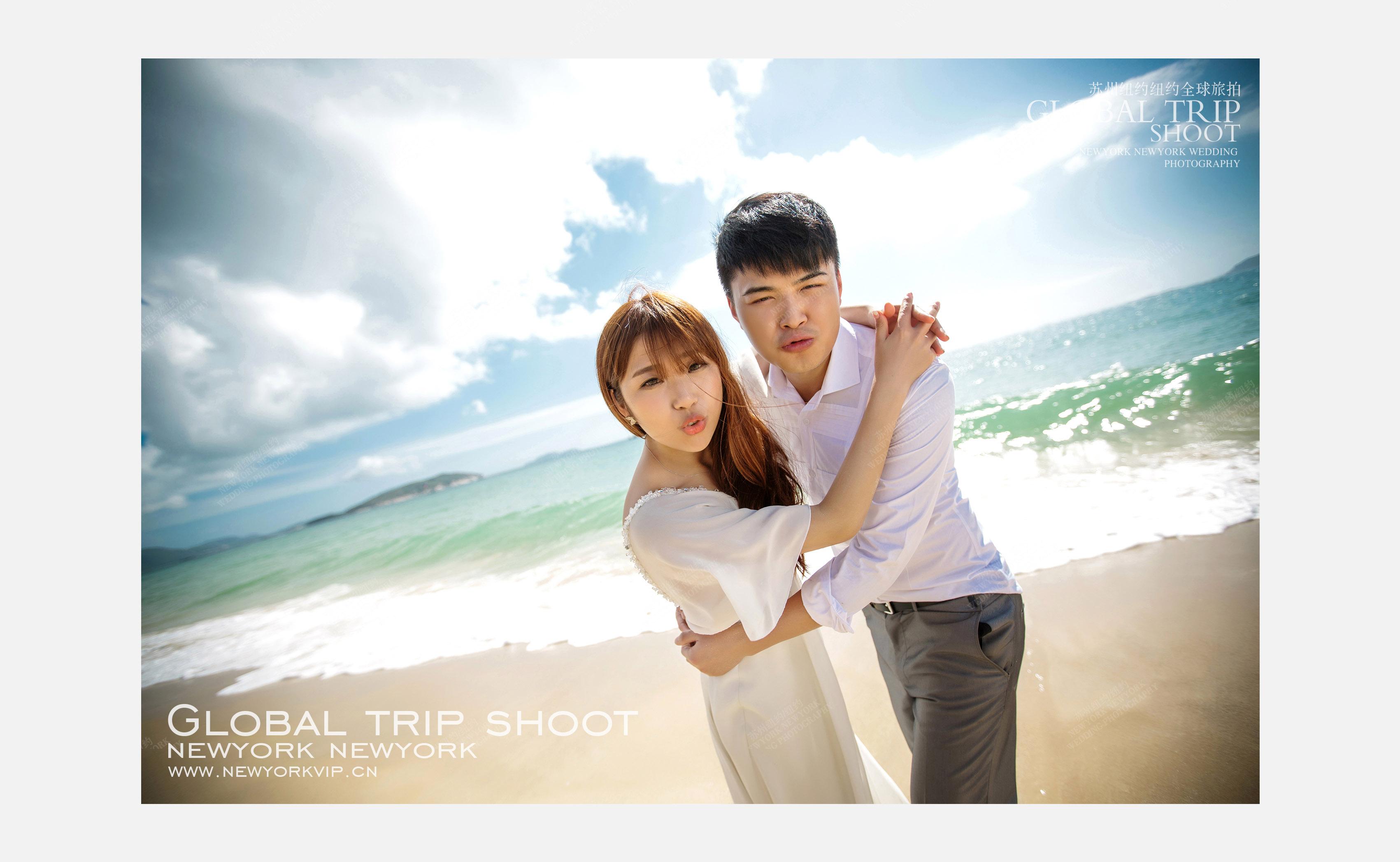 Mr.张 & Ms.陈(三亚旅拍)婚纱摄影照
