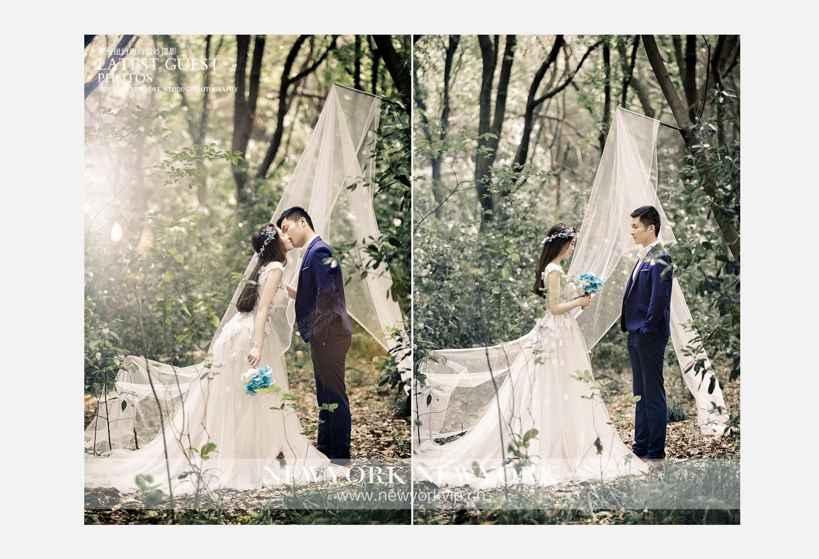 Mr.凌 & Ms.朱(纽约VIP尊荣馆)婚纱摄影照