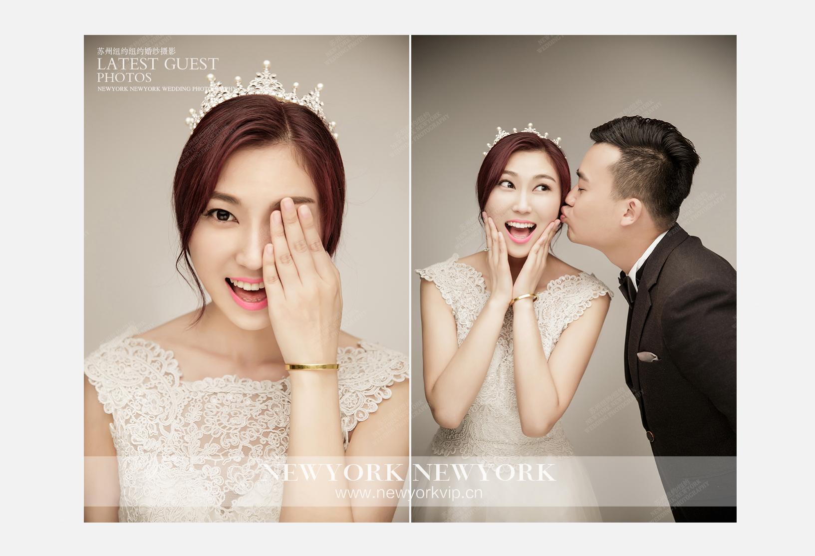 Mr.杨 & Ms.候(纽约旗舰店)婚纱摄影照