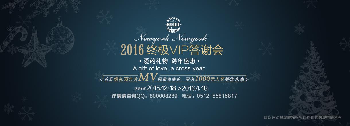 2016 终极VIP答谢会婚纱摄影照