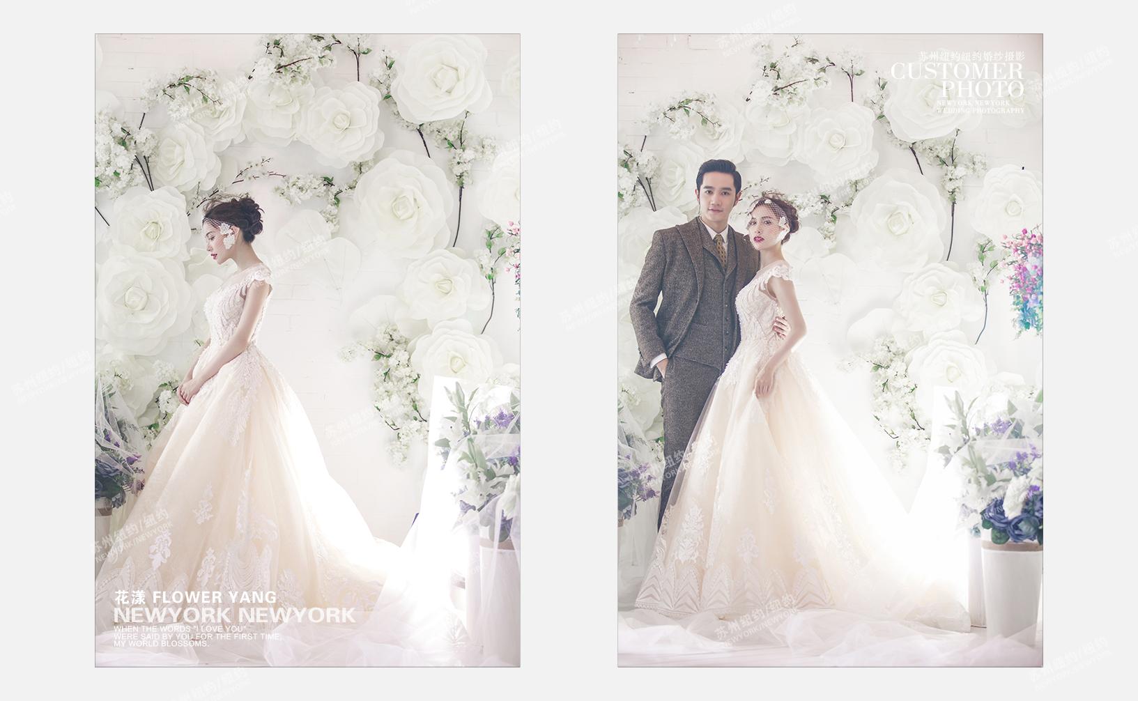 花漾婚纱摄影照