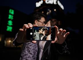 Mr.李 & Ms.楼(纽约纽约VIP尊荣馆)婚纱摄影照