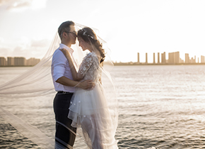 Mr.凌 & Ms.石(纽约纽约旗舰店)婚纱摄影照