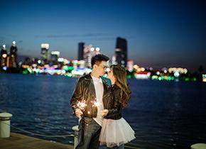 Mr.张 & Ms.茅(纽约纽约旗舰店)婚纱摄影照