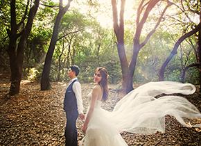 Mr.钱 & Ms.陈(纽约纽约VIP尊荣馆)婚纱摄影照