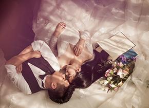 Mr.周 & Ms.李(纽约纽约VIP尊荣馆)婚纱摄影照