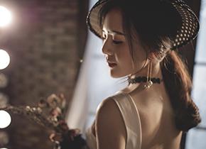 Mr.贺 & Ms.刘(纽约纽约VIP尊荣馆)婚纱摄影照