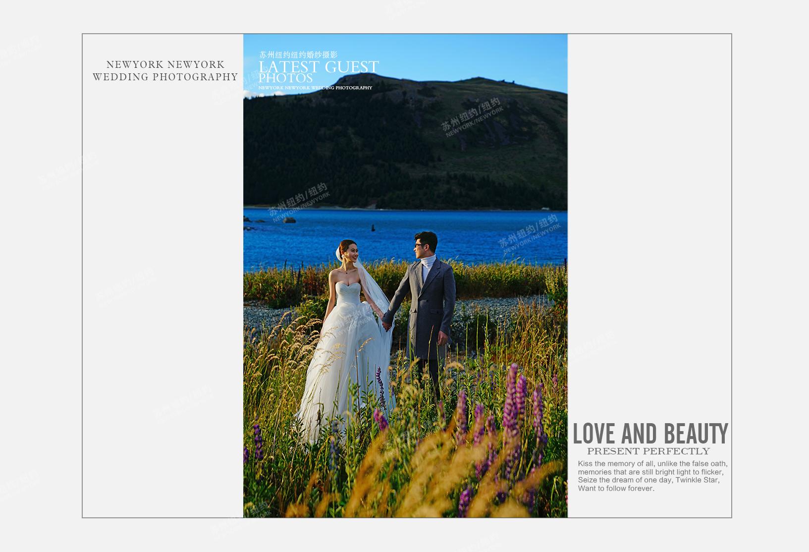 Mr.邵 & Ms.周(新西兰旅拍)婚纱摄影照