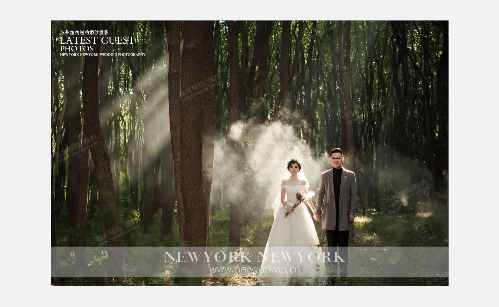 Mr.王 & Ms.倪(纽约纽约VIP尊荣馆)婚纱摄影照