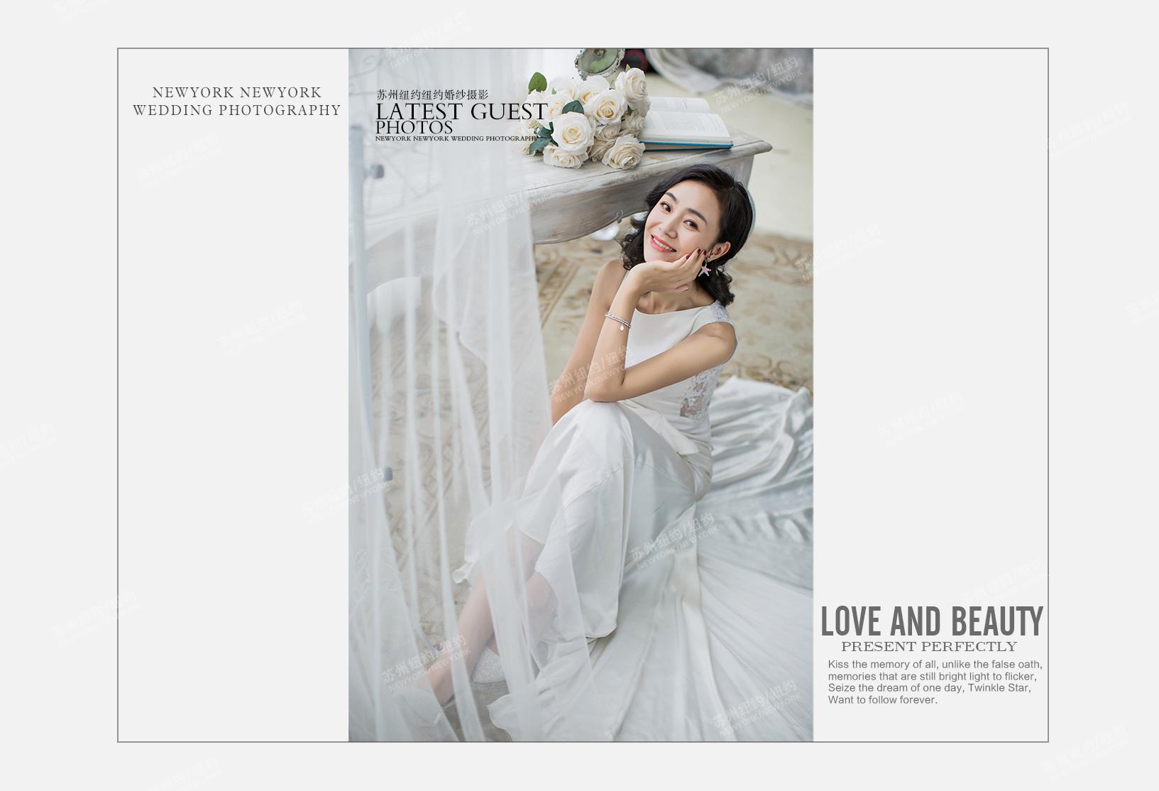 Ms.周 & Ms.金 & Ms.马(纽约纽约闺蜜照)婚纱摄影照