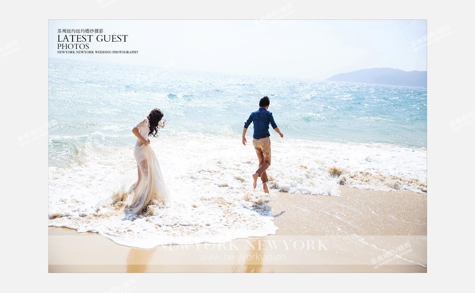 Mr.丁 & Ms.汪(纽约纽约海南三亚旅拍)婚纱摄影照