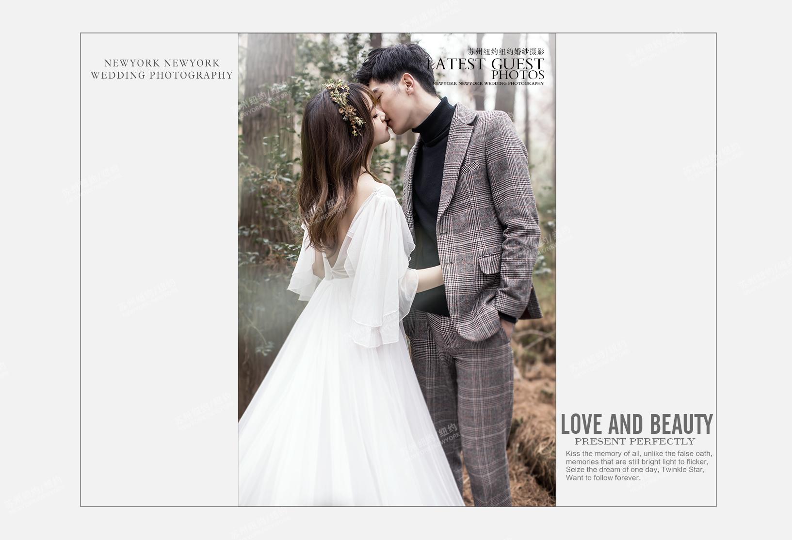 Mr.胡 & Ms.何(纽约纽约VIP尊荣馆)婚纱摄影照