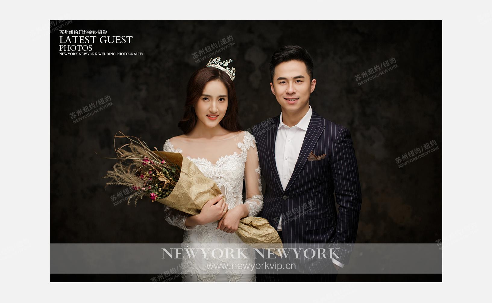 Mr.欧 & Ms.禹(纽约纽约旗舰店)婚纱摄影照