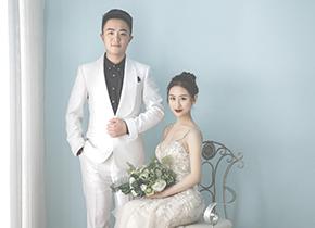 Mr.陈 & Ms.朱(纽约纽约VIP尊荣馆)婚纱摄影照