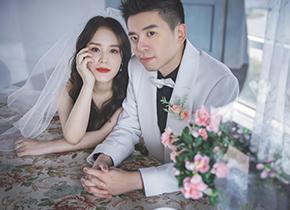 Mr.吴 & Ms.沈(纽约纽约最新客照)婚纱摄影照