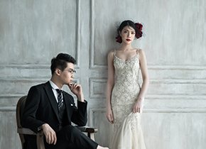 Mr.朱 & Ms.姜(纽约纽约最新客照)婚纱摄影照
