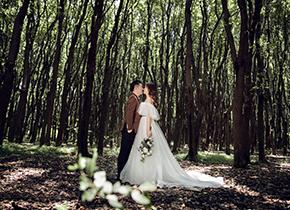 Mr.钱 & Ms.黄(纽约纽约最新客照)婚纱摄影照