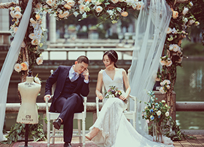 Mr.沈 & Ms.常(纽约纽约最新客照)婚纱摄影照