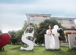 Mr.纪 & Ms.伏(纽约纽约最新客照)婚纱摄影照