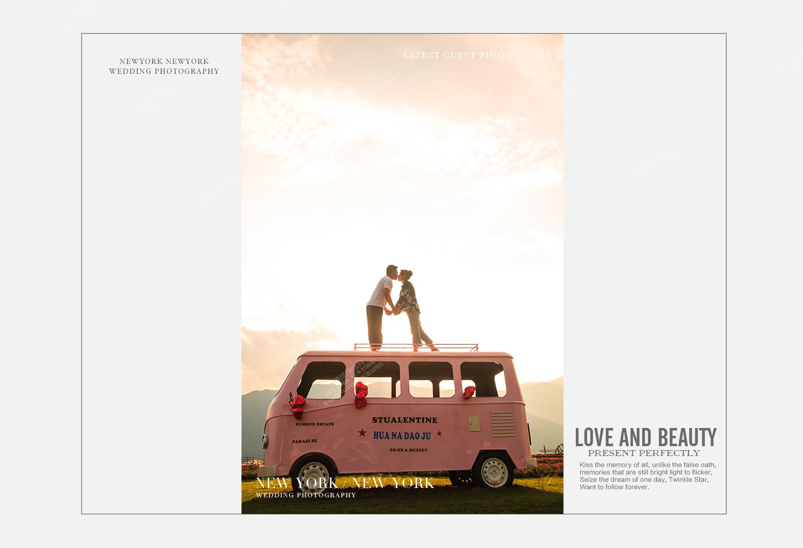 Mr.陆 & Ms.吴(纽约纽约最新客照)婚纱摄影照