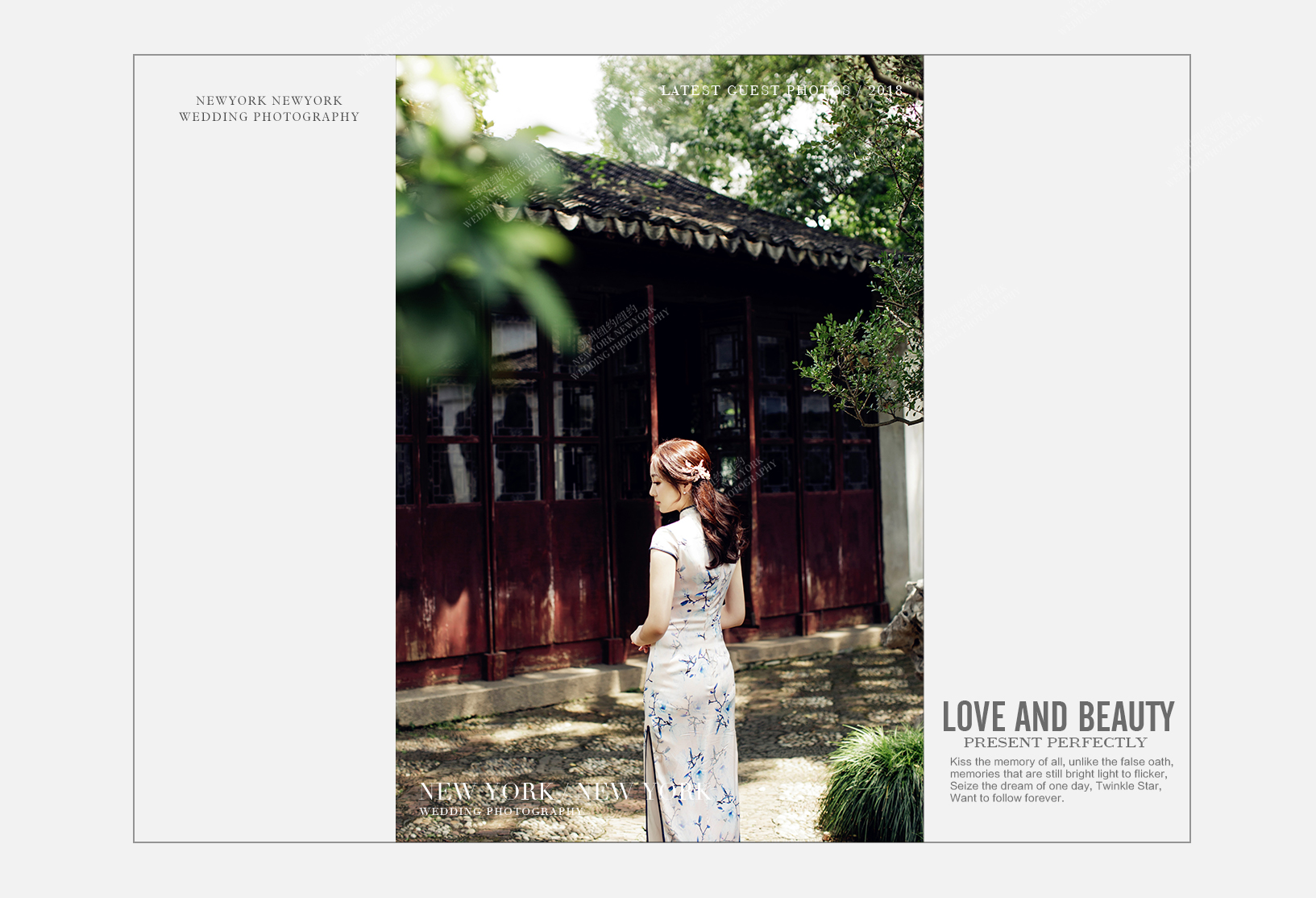Mr.王 & Ms.蔡(纽约纽约最新客照)婚纱摄影照