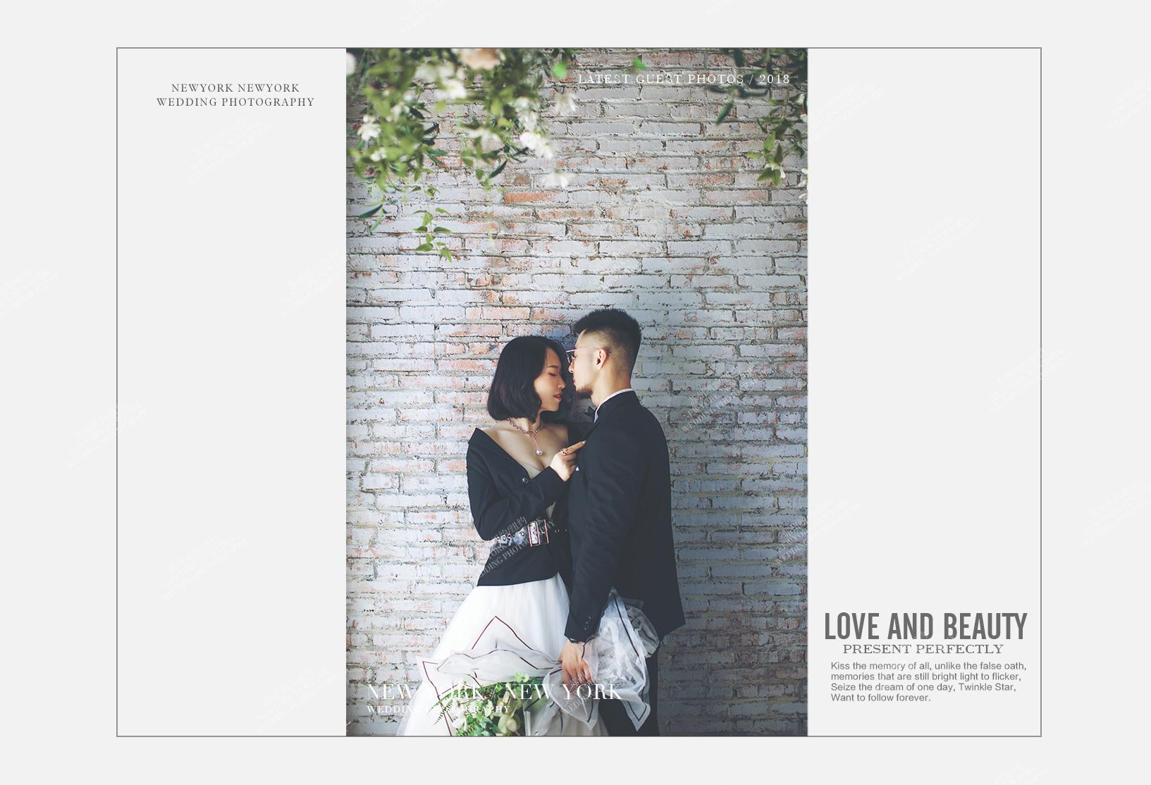 Mr.胡 & Ms.张(纽约纽约最新客照)婚纱摄影照