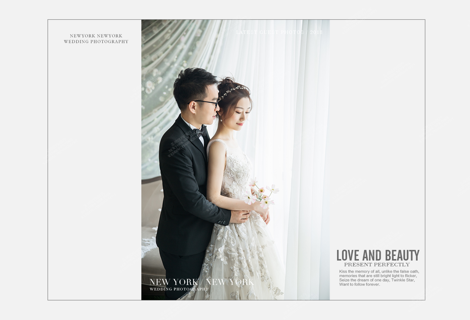 Mr.章 & Ms.陈(纽约纽约最新客照)婚纱摄影照