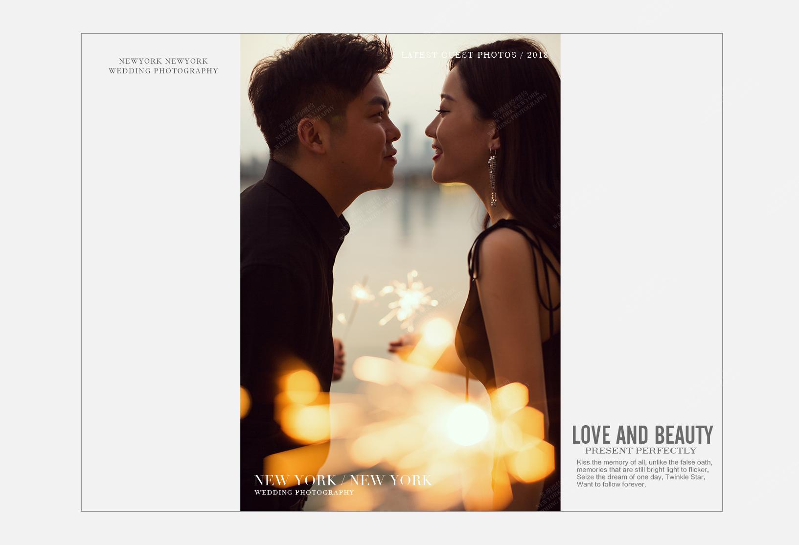 Mr.宋 & Ms.许(纽约纽约最新客照)婚纱摄影照