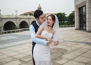 Mr.卢 & Ms.罗(纽约纽约最新客照)婚纱摄影照