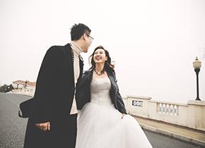 Mr.何 & Ms.俞(纽约纽约最新客照)婚纱摄影照