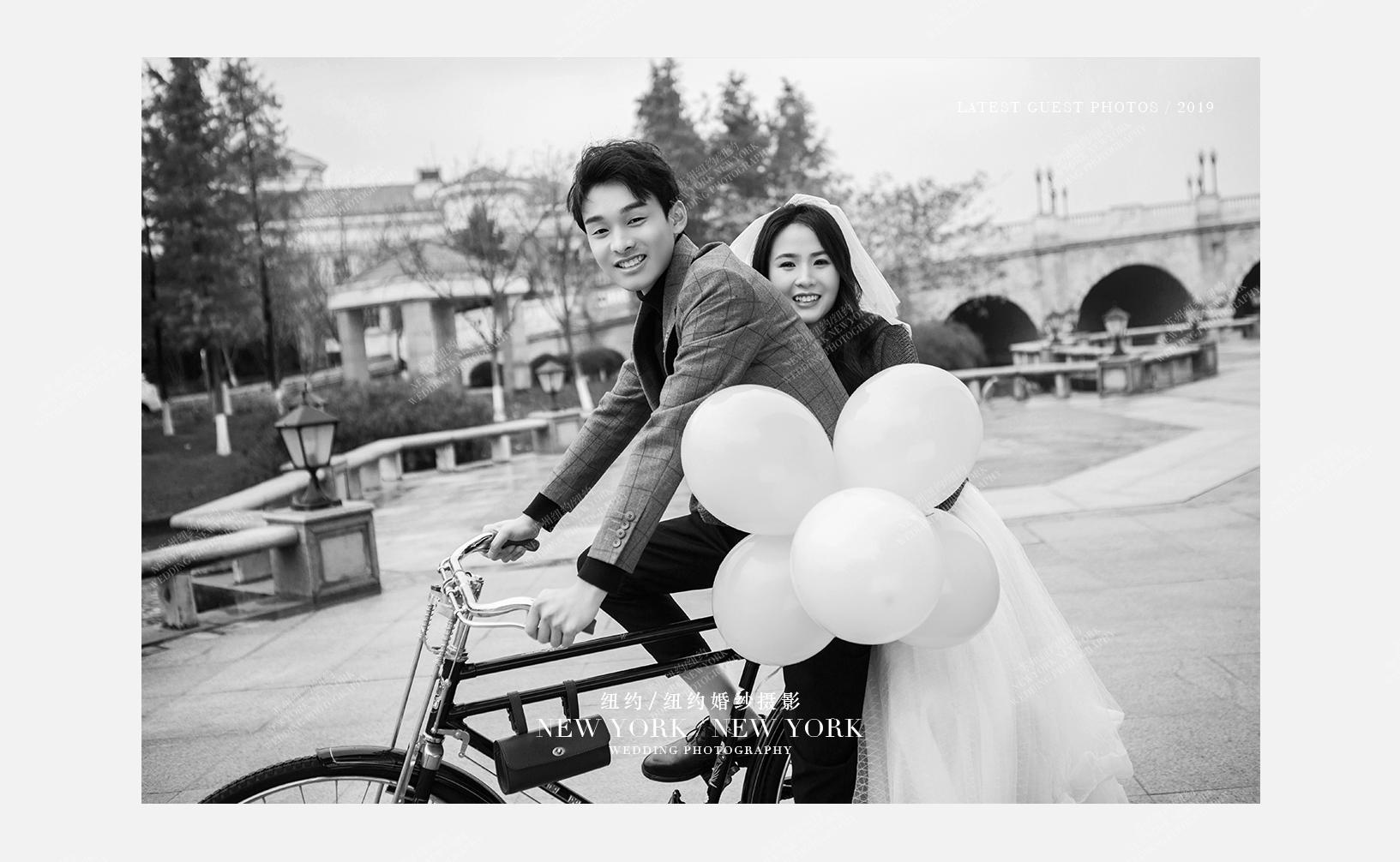 Mr.李 & Ms.谢(纽约纽约最新客照)婚纱摄影照