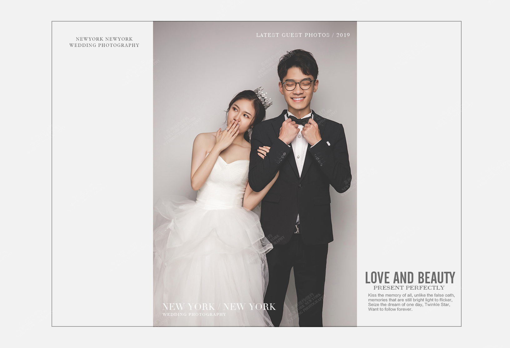 Mr.高 & Ms.卢(纽约纽约最新客照)婚纱摄影照