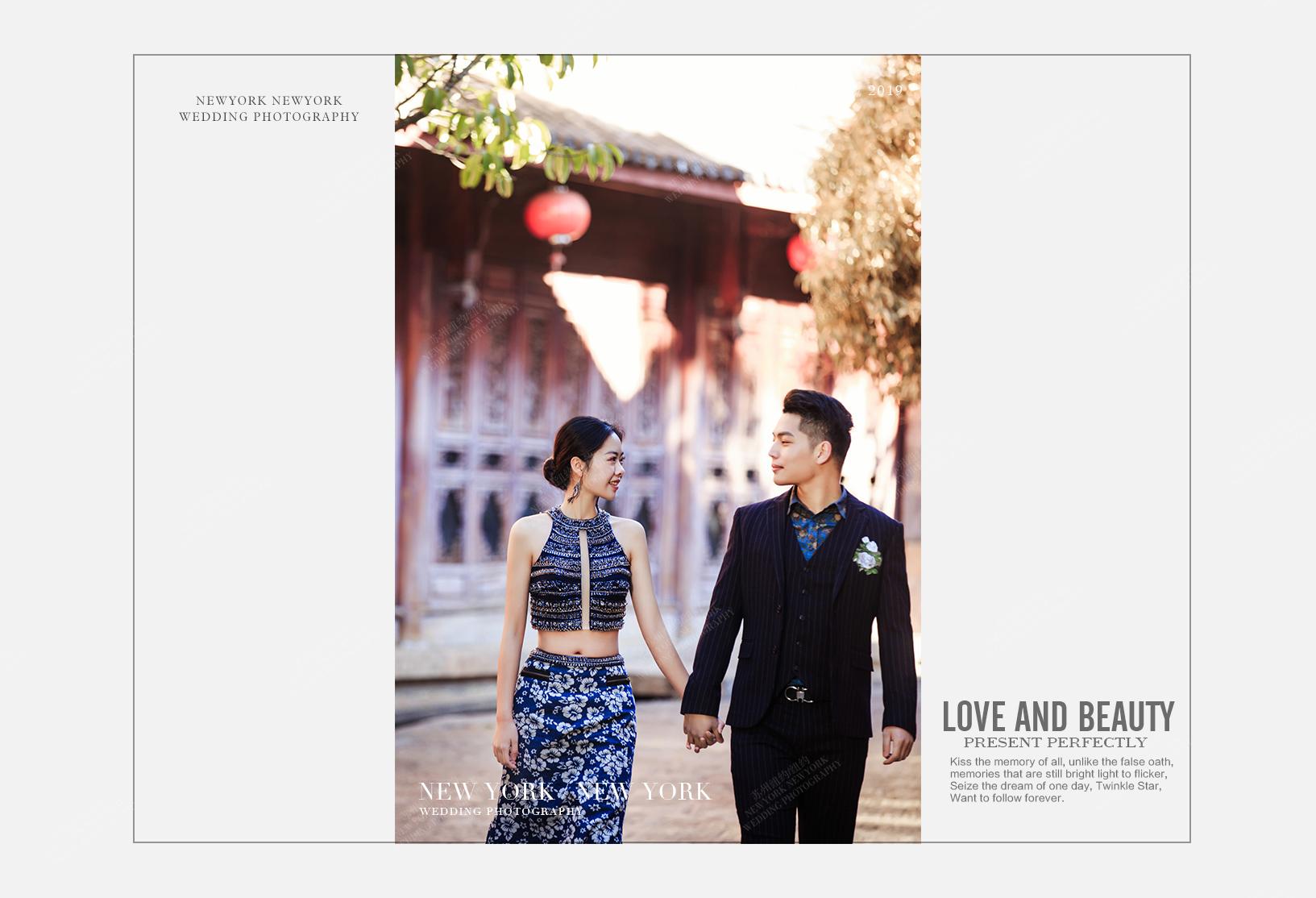 Mr.郭 & Ms.朱(纽约纽约-丽江旅拍)婚纱摄影照