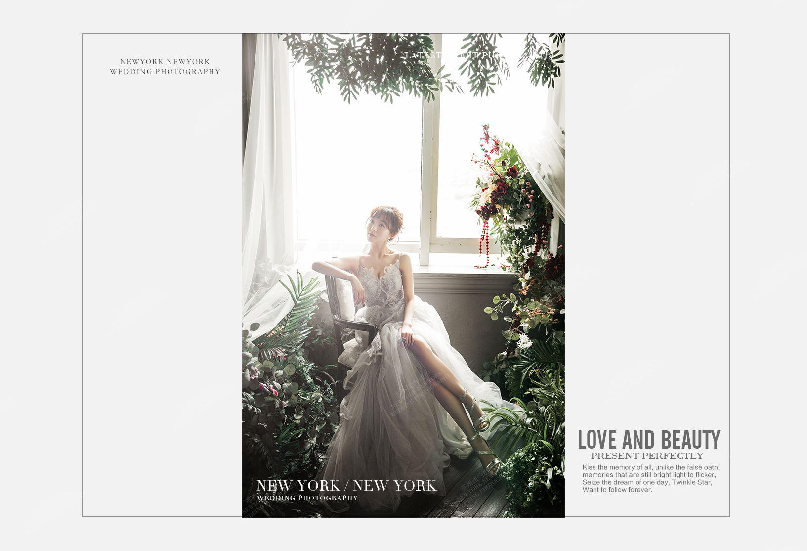 Mr.朱 & Ms.徐(纽约纽约最新客照)婚纱摄影照