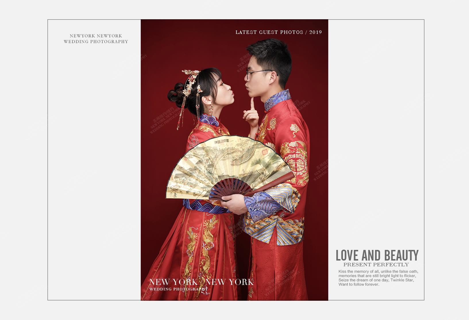 Mr.刘 & Ms.龚(纽约纽约最新客照)婚纱摄影照