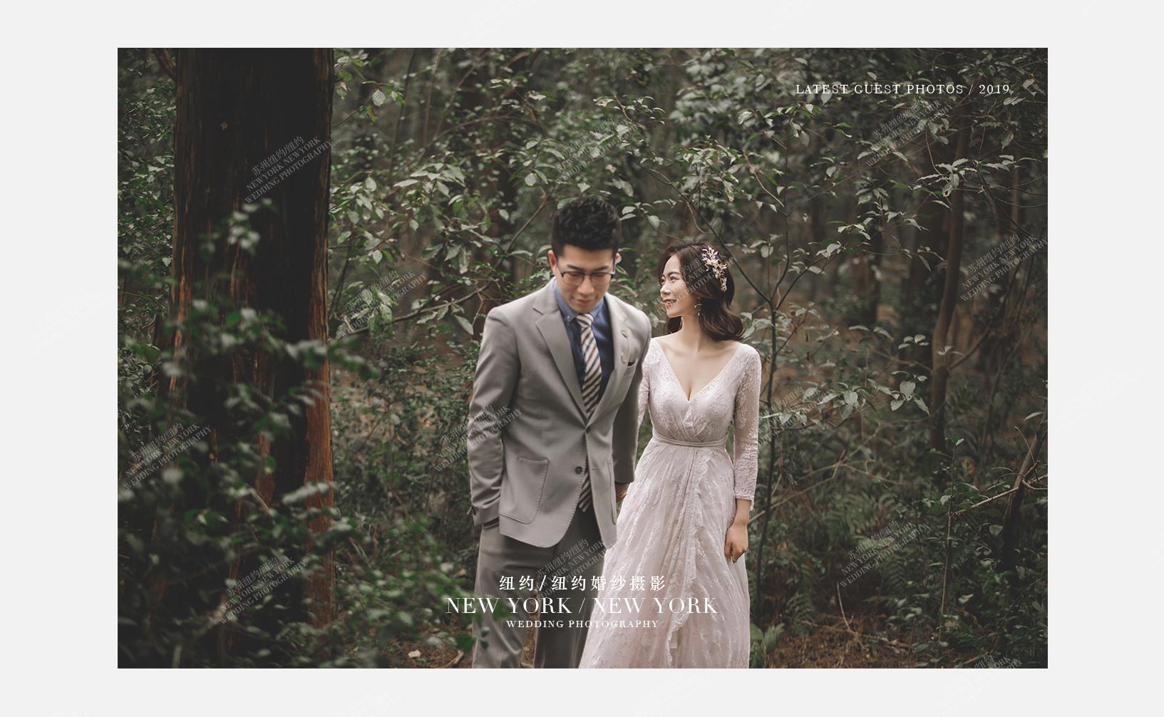 Mr.安 & Ms.周(纽约纽约最新客照)婚纱摄影照