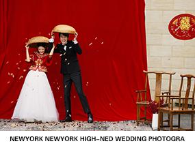 红绯 rosey red系列婚纱摄影照