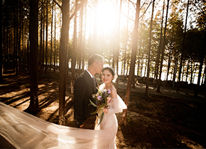 Mr.许 & Ms.高(纽约纽约最新客照)婚纱摄影照