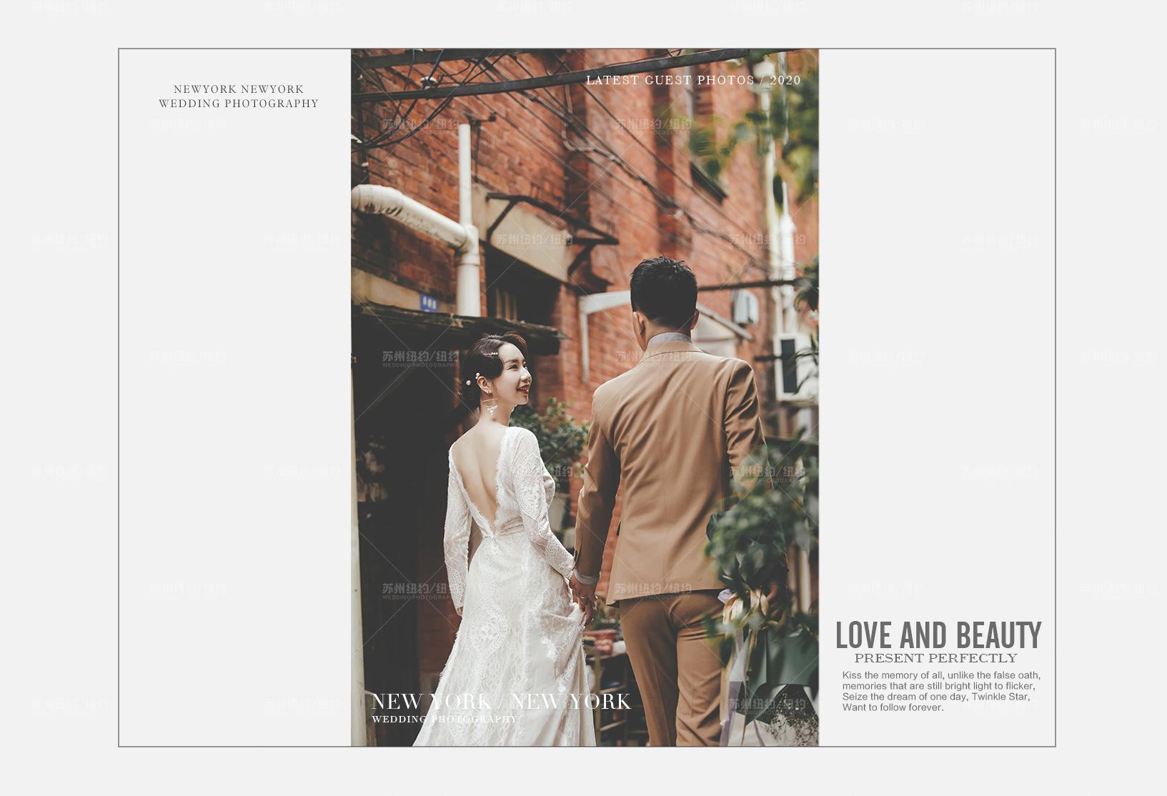 Mr.马 & Ms.金(纽约纽约最新客照)婚纱摄影照