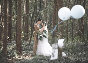 Mr.祝 & Ms.孙(纽约纽约最新客照)婚纱摄影照