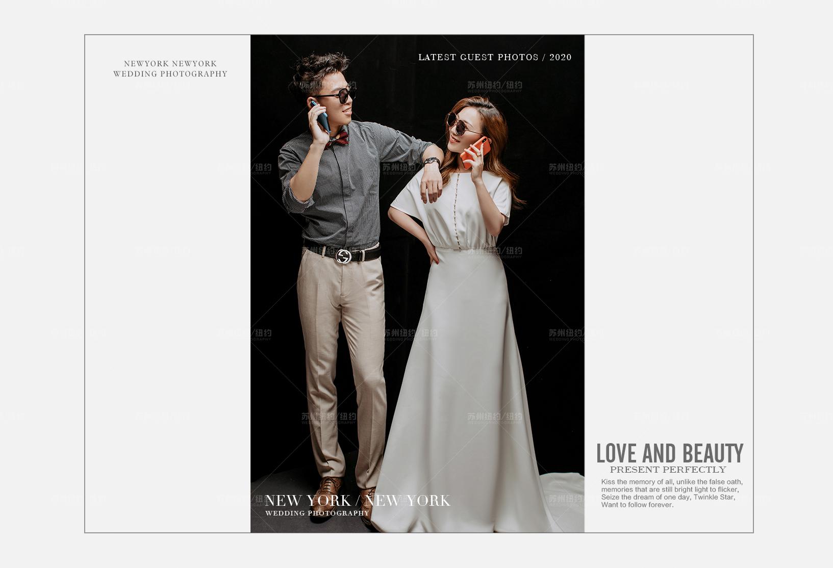 Mr.张 & Ms.程(纽约纽约最新客照)婚纱摄影照