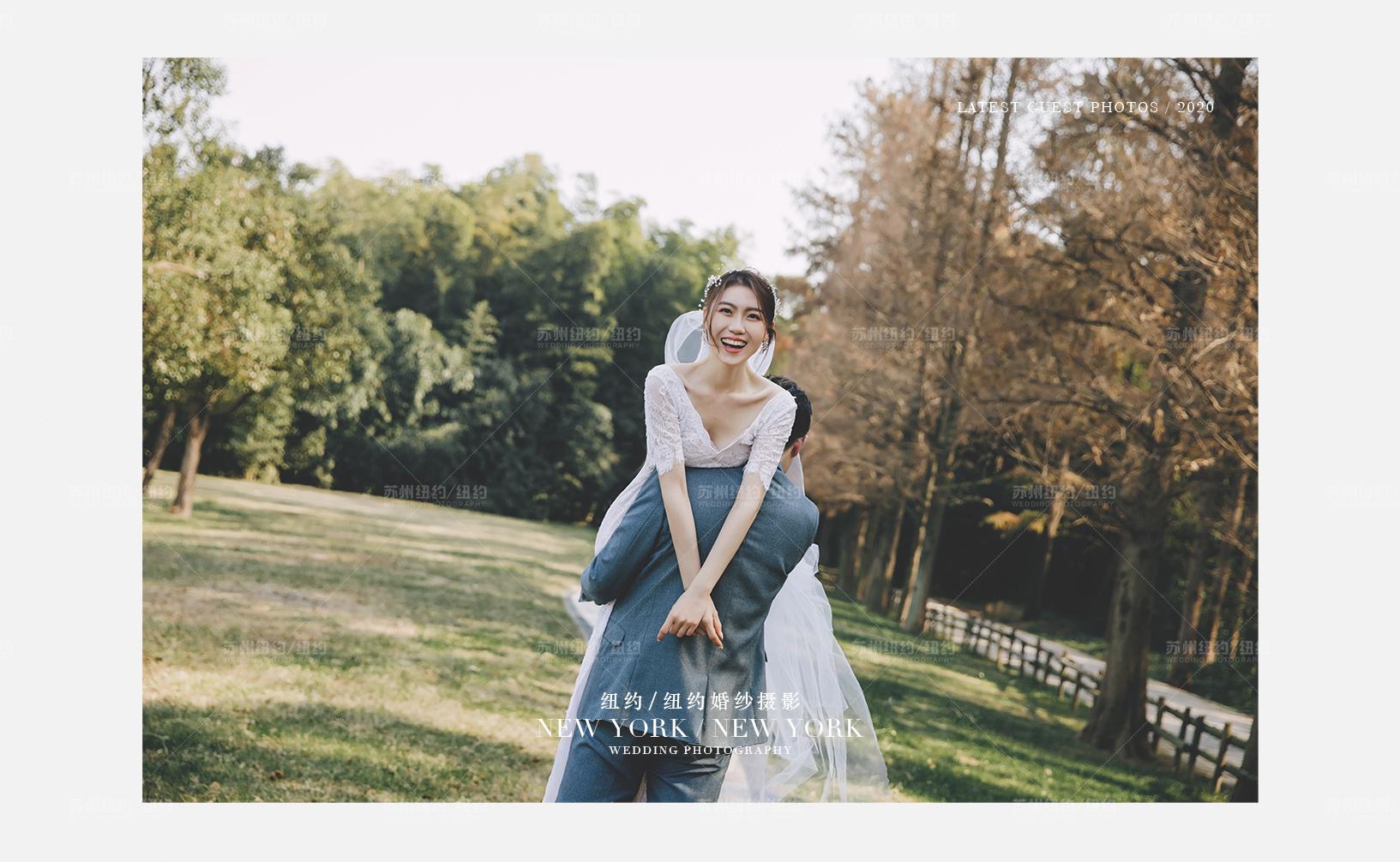 Mr.朱 & Ms.朱(纽约纽约最新客照)婚纱摄影照