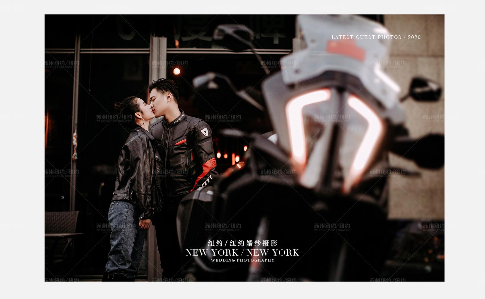 Mr.蔡 & Ms.李(纽约纽约最新客照)婚纱摄影照