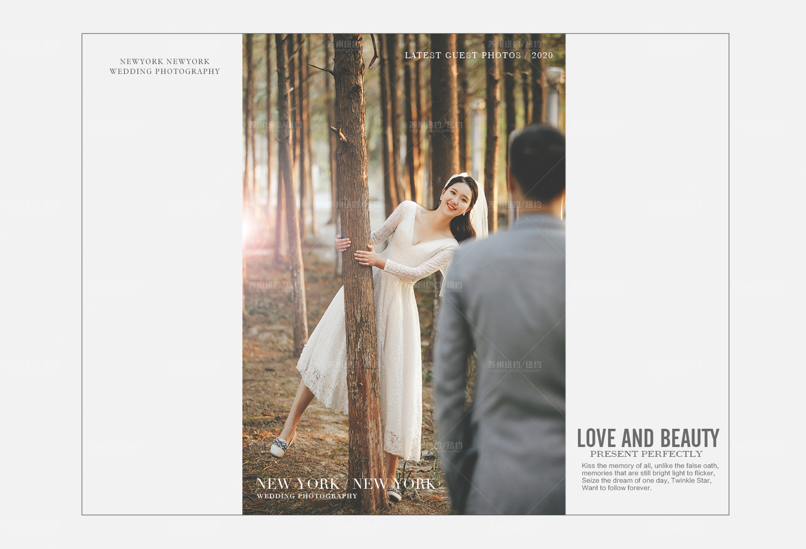 Mr.张 & Ms.刘(纽约纽约最新客照)婚纱摄影照