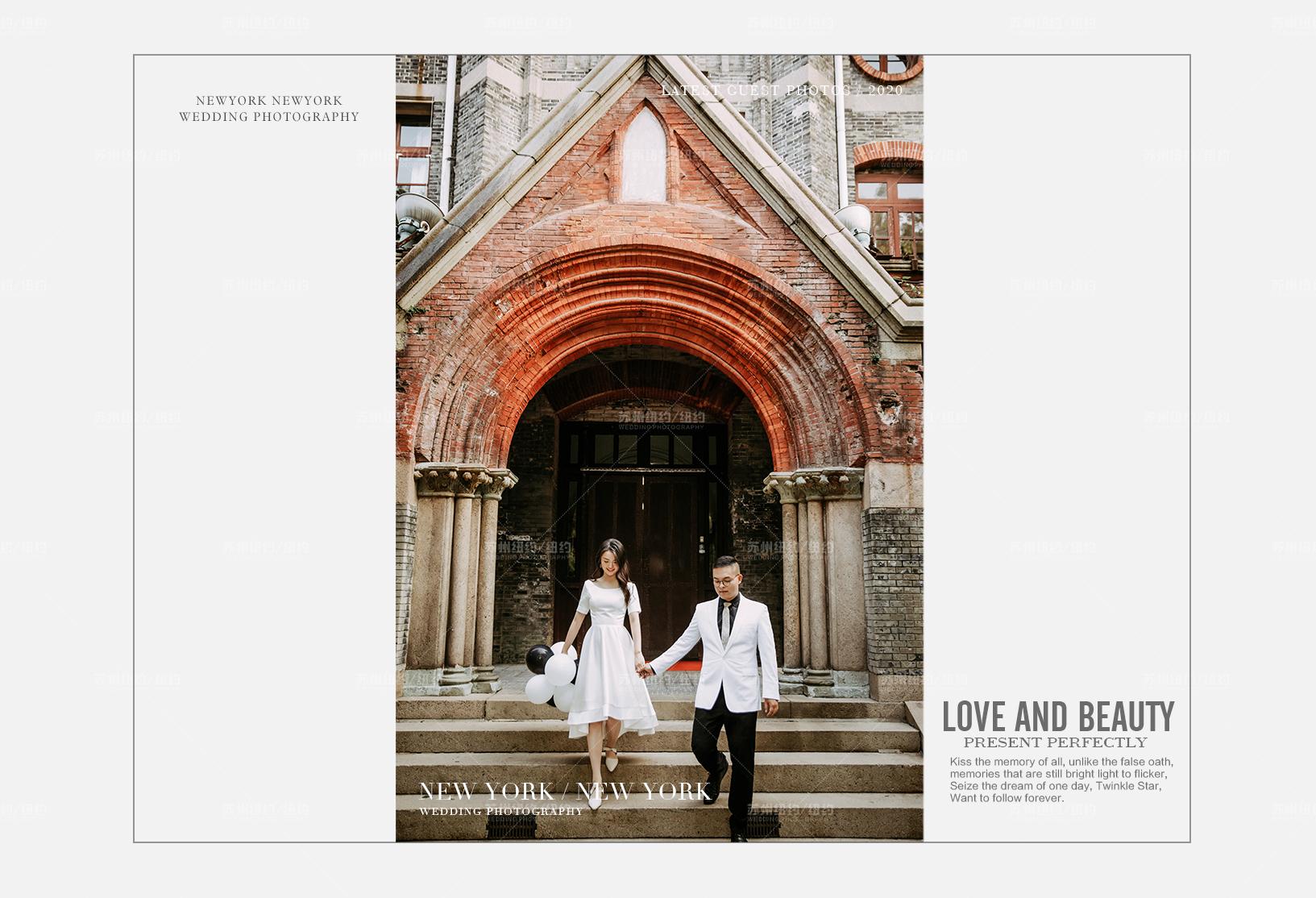 Mr.张 & Ms.蒋(纽约纽约最新客照)婚纱摄影照