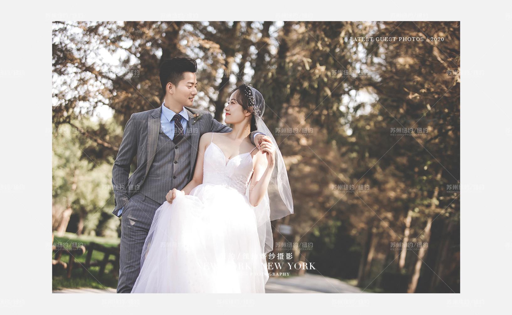 Mr.黄 & Ms.张(纽约纽约最新客照)婚纱摄影照