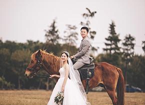 Mr.梁 & Ms.周(纽约纽约最新客照)婚纱摄影照