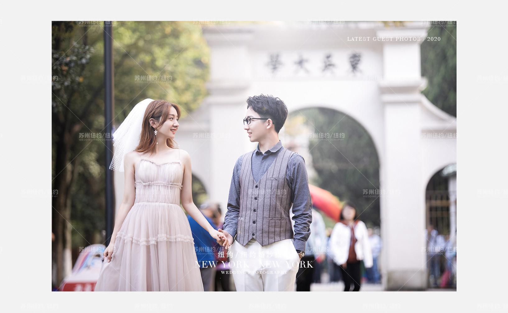 Mr.辅 & Ms.徐(纽约纽约最新客照)婚纱摄影照